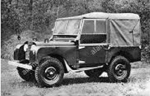 1953 Land rover serie 80