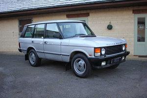 1987  RANGE ROVER CLASSIC EFI – 98,000 MILES – £22,950