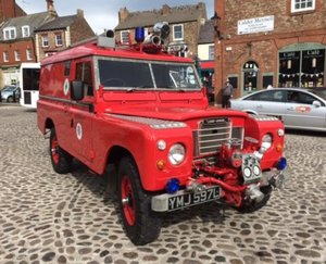 Picture of 1972 Land Rover® Series 3 109 Fire Engine RESERVED SOLD