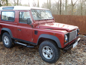 2006 Land Rover Defender 90 Factory Station Wagon SOLD