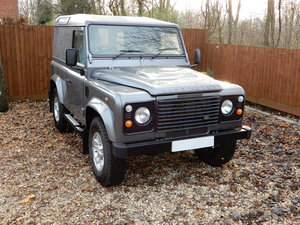 2011 Land Rover Defender 90 County Hard Top