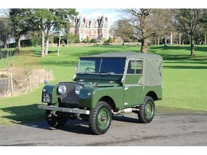 Picture of Land Rover Series 1 80 1951 Pristine collectors item For Sale