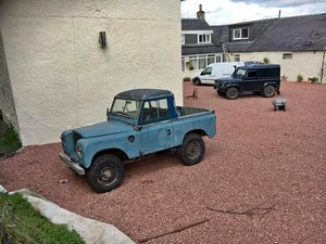1971 Land Rover Series 3 Pick Up - Project For Sale