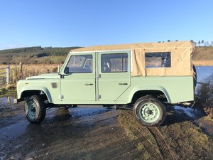 Land Rover CWS 110, Soft top, Gavlanised chassis & bulkhead