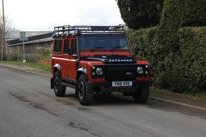 2016 Land Rover Defender 110 Adventure Limited Edition
