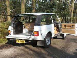 RANGE ROVER CLASSIC 2 DOOR – GREAT SURVIVOR !