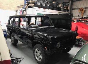 1993 RANGE ROVER VOGUE SE - RESTORED CAR IN BELUGA BLACK For Sale