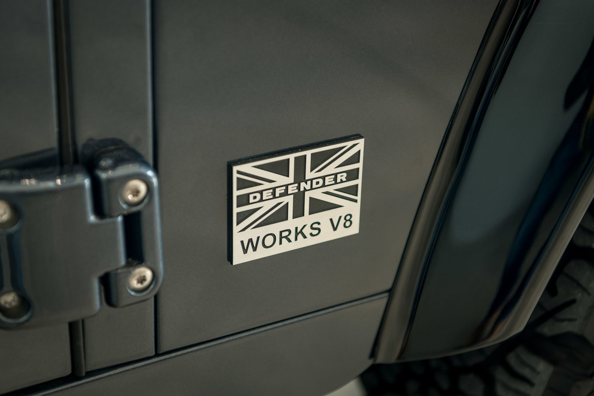 2013 Land Rover Defender 90 Works V8 70th Edition For Sale (picture 3 of 6)