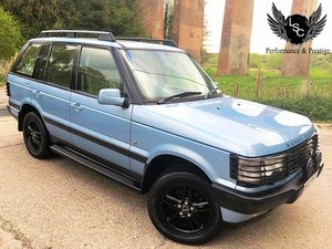 *Now Sold* Range Rover P38 4.0 SE | 46,000 | 2000 'W' |