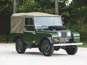 1950 Land Rover Series 1 SWB  For Sale by Auction