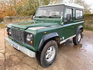 1999 99T Defender 90 TD5 6 seater+ new galv chassis! SOLD