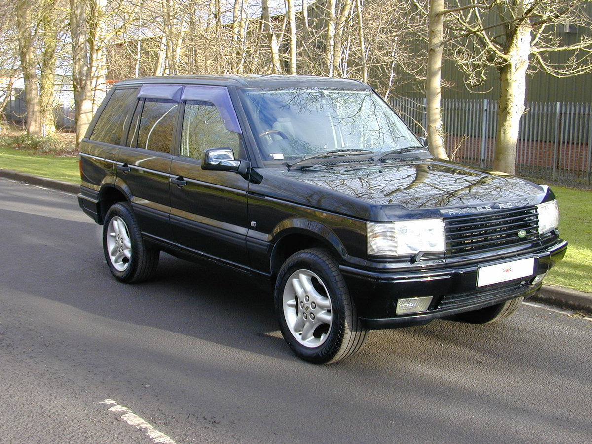 2000 RANGE ROVER P38 4.0 SE - RHD - LOW MILES - JUST 49K EX JAPAN For Sale (picture 1 of 6)
