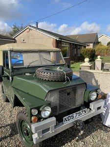 1975 Land Rover lightweight MOT and Tax exempt.