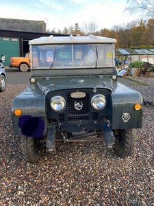 1951 Landrover Series 1 80inch