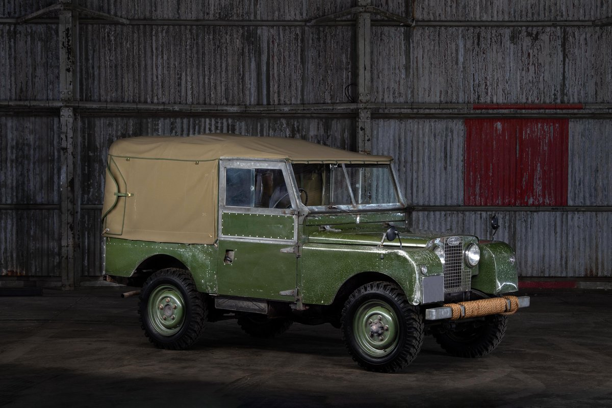 1957 Land rover Series 1 88 SOLD (picture 1 of 10)