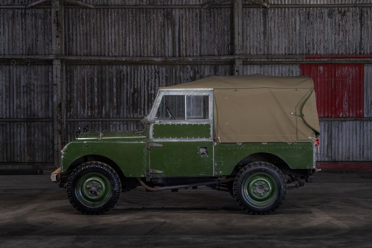 1957 Land rover Series 1 88 SOLD (picture 2 of 10)
