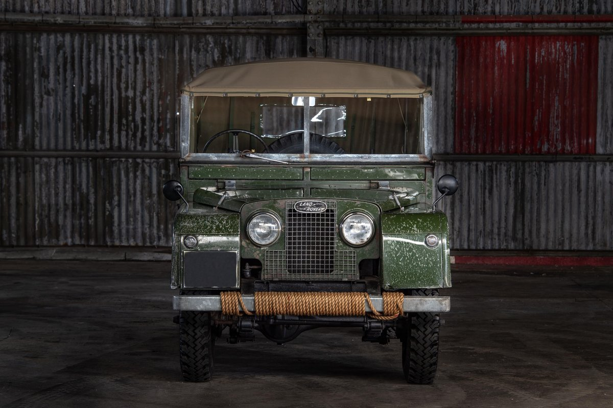 1957 Land rover Series 1 88 SOLD (picture 3 of 10)