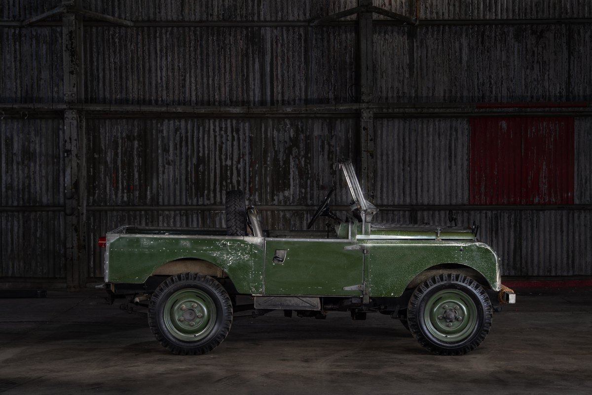 1957 Land rover Series 1 88 SOLD (picture 5 of 10)