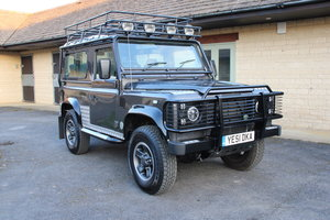 2001  LAND ROVER DEFENDER 90 TOMB RAIDER – 67,000 MILES