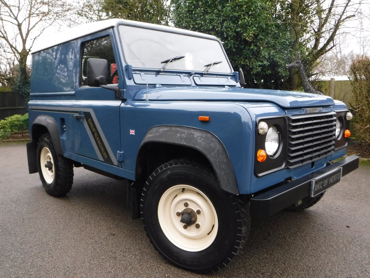 1989 Land Rover 90 2.5 TD Hard Top USA EXPORTABLE + LOW MILEAGE For Sale (picture 1 of 6)