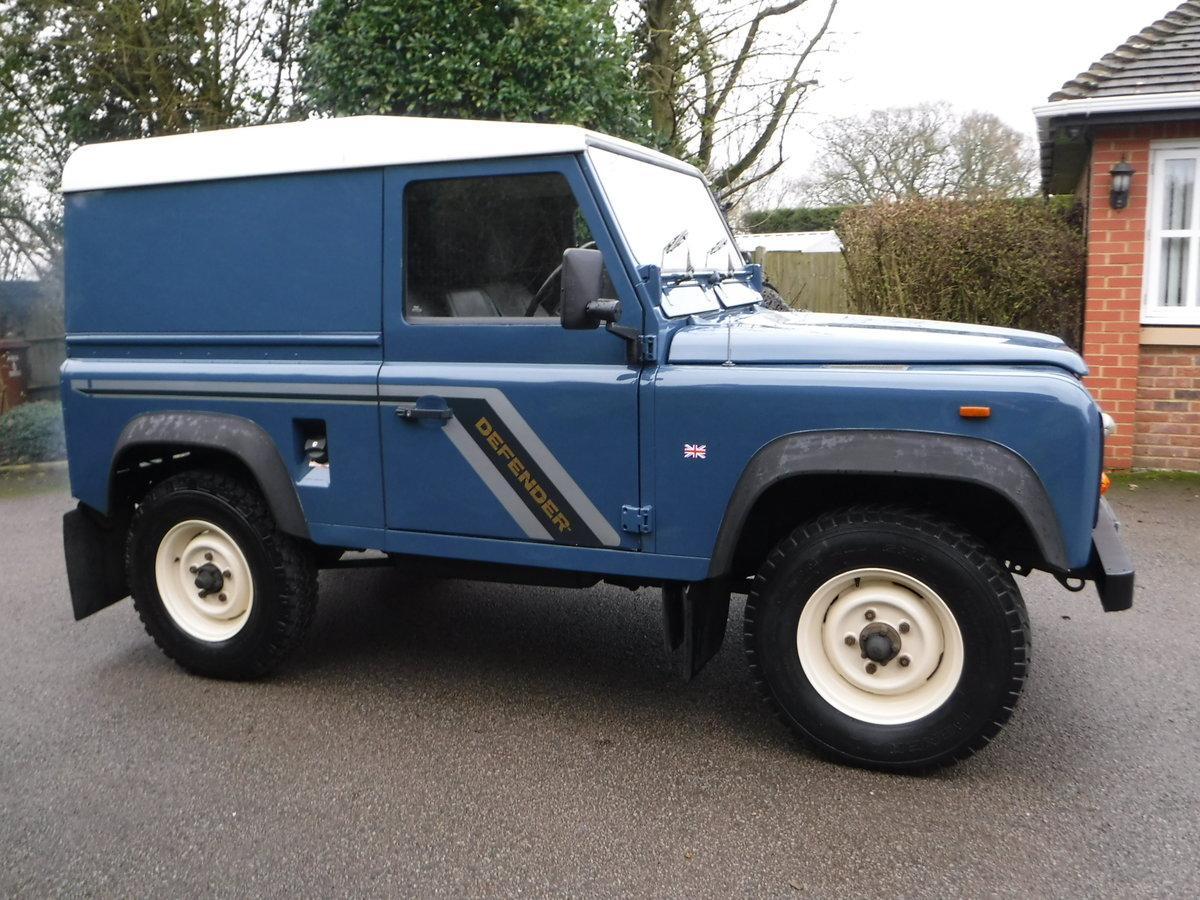 1989 Land Rover 90 2.5 TD Hard Top USA EXPORTABLE + LOW MILEAGE For Sale (picture 2 of 6)