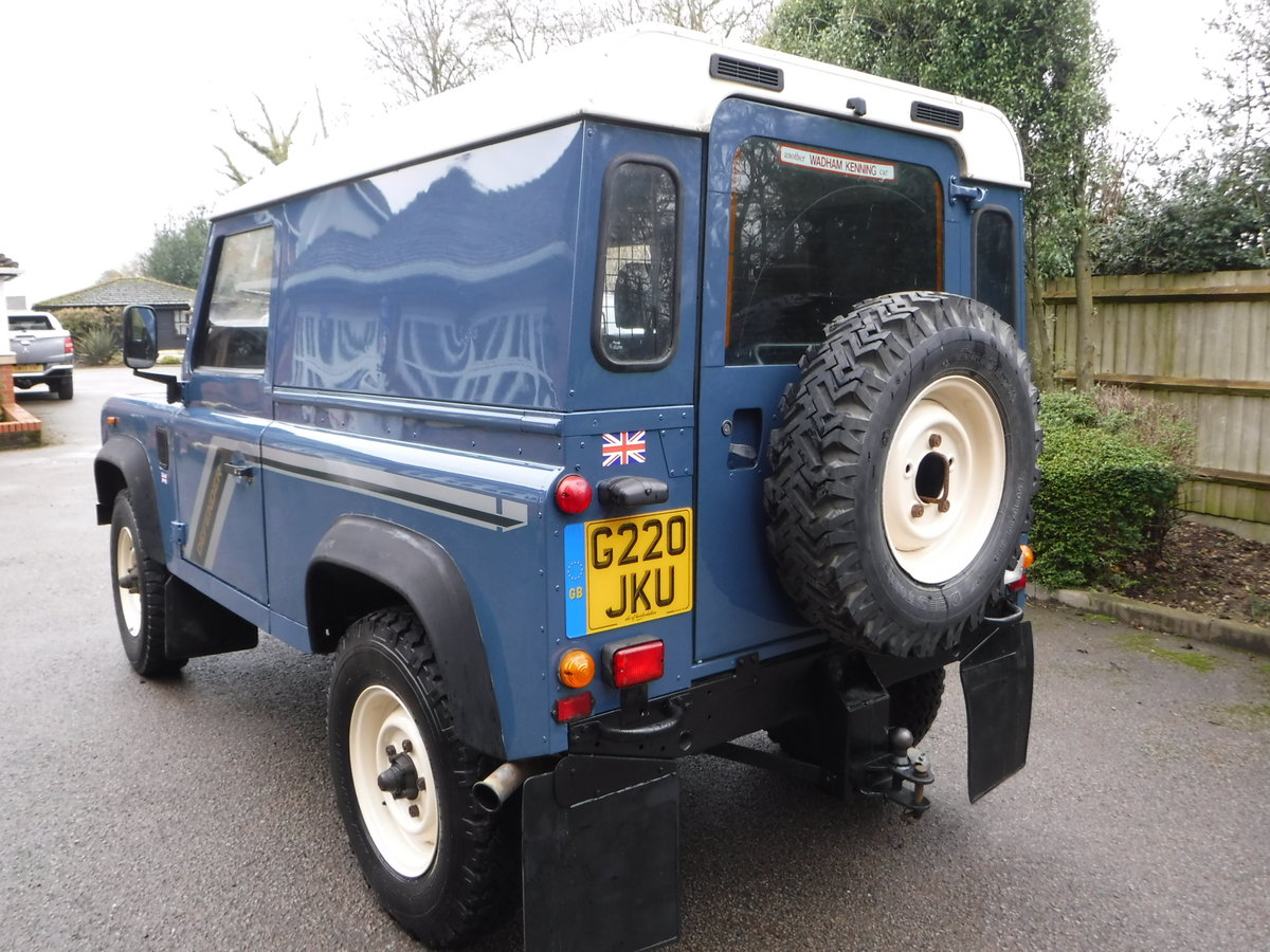 1989 Land Rover 90 2.5 TD Hard Top USA EXPORTABLE + LOW MILEAGE For Sale (picture 3 of 6)