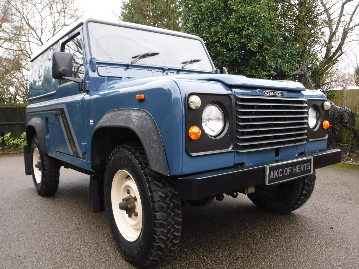 1989 Land Rover 90 2.5 TD Hard Top USA EXPORTABLE + LOW MILEAGE For Sale (picture 4 of 6)