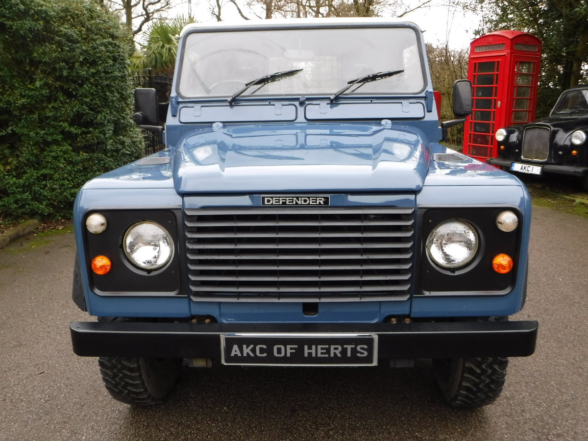 1989 Land Rover 90 2.5 TD Hard Top USA EXPORTABLE + LOW MILEAGE For Sale (picture 6 of 6)