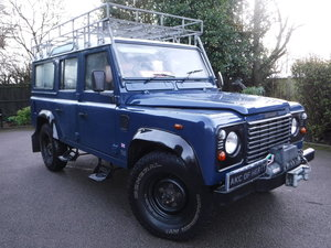 2000 Land Rover Defender 110 2.5 TD5 1 OWNER FROM NEW!!!!!!