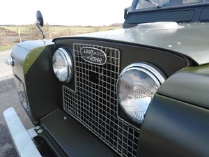 1962 Fully restored Land Rover series 2A