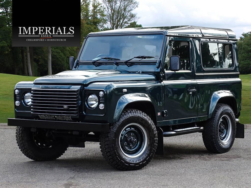Land Rover  DEFENDER 90  TD XS STATION WAGON NO VAT 2012 MOD For Sale (picture 1 of 18)