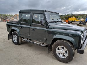 Defender 110 Crew Cab Green