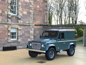 Handmade Land Rover Defender TDCi with Glass Roof