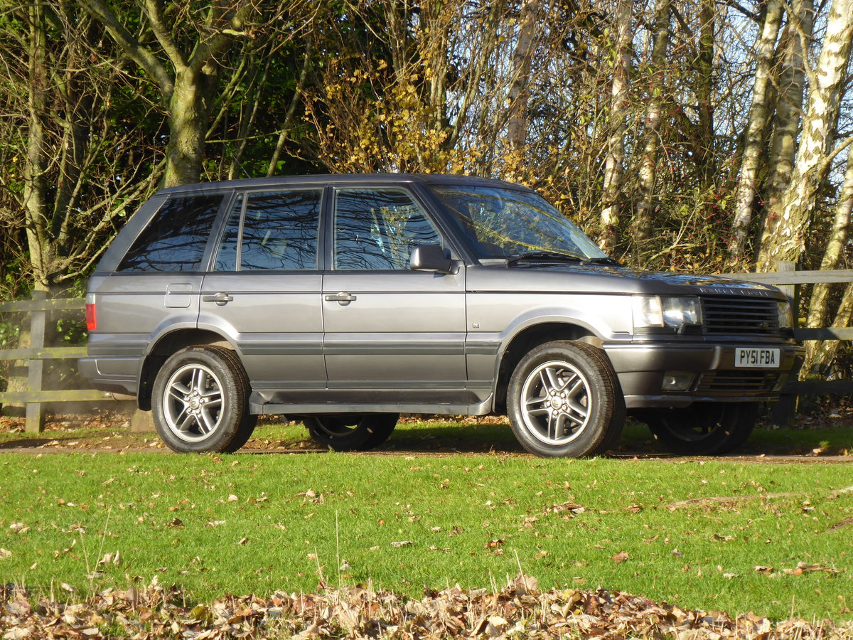 2001 Range Rover P38 Westminster Full Service History Low Miles For Sale (picture 1 of 6)