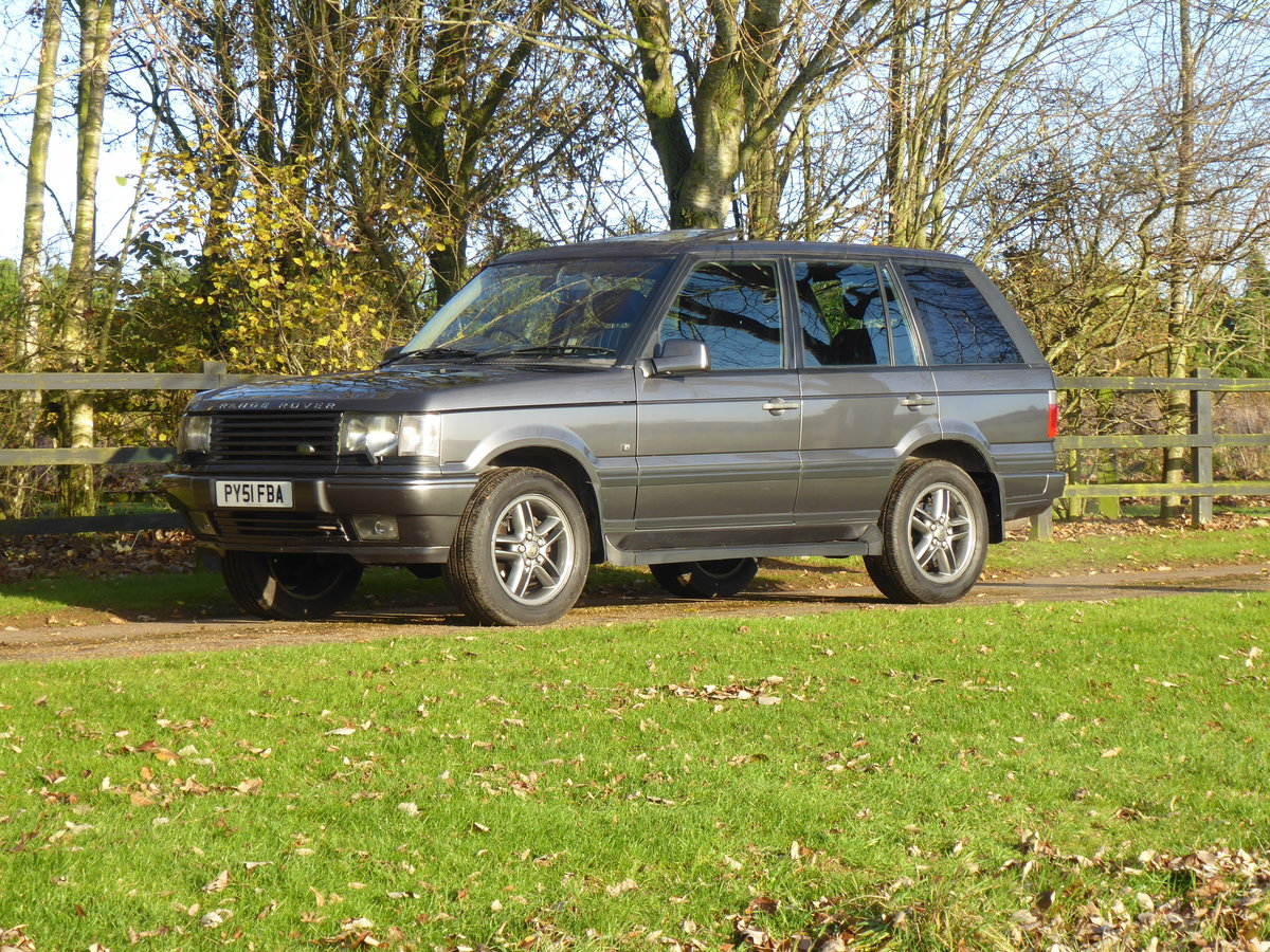 2001 Range Rover P38 Westminster Full Service History Low Miles For Sale (picture 2 of 6)