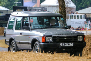 1989 Rare Land Rover Discovery G-WAC Press Car