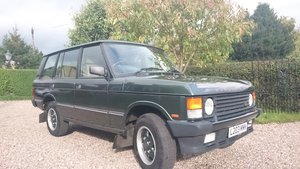 1993 Range Rover Vogue LSE - One owner and 77000 miles