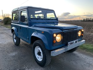 Land Rover 90 County - 2.5 NA Diesel PAS