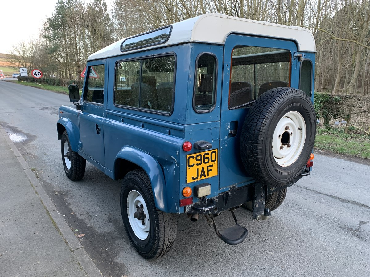 1986 Land Rover 90 County - 2.5 NA Diesel PAS SOLD (picture 3 of 6)