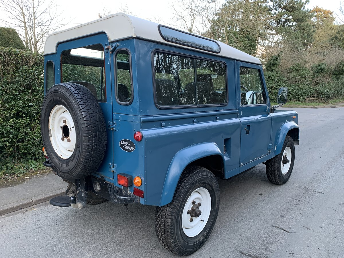 1986 Land Rover 90 County - 2.5 NA Diesel PAS SOLD (picture 4 of 6)