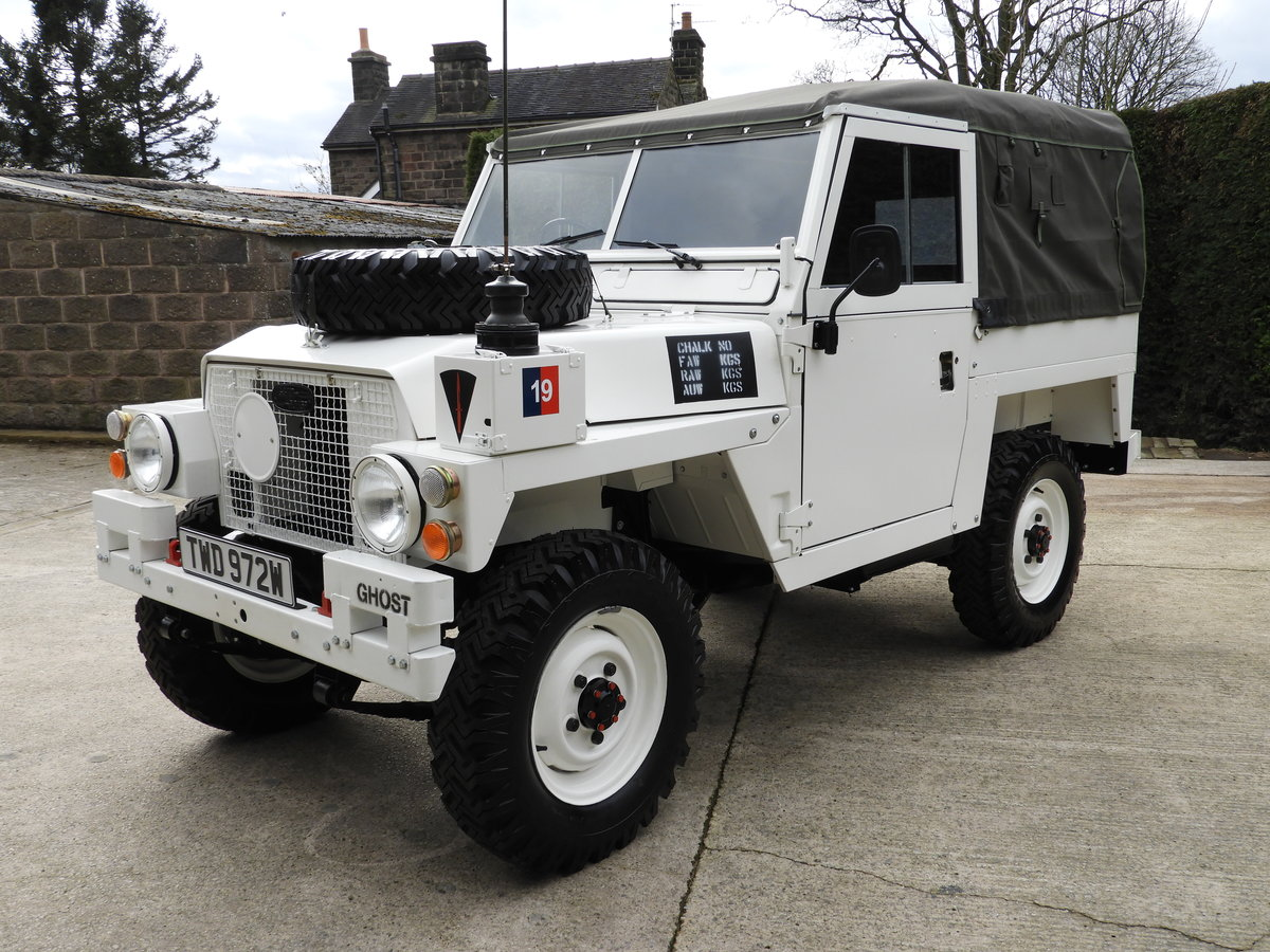 1980 LAND ROVER SERIES 3 LIGHTWEIGHT RARE ARCTIC VERSION!! For Sale (picture 1 of 6)