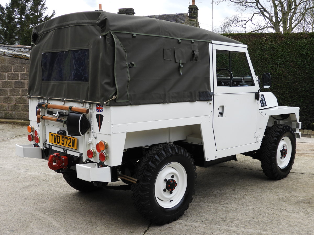 1980 LAND ROVER SERIES 3 LIGHTWEIGHT RARE ARCTIC VERSION!! For Sale (picture 3 of 6)