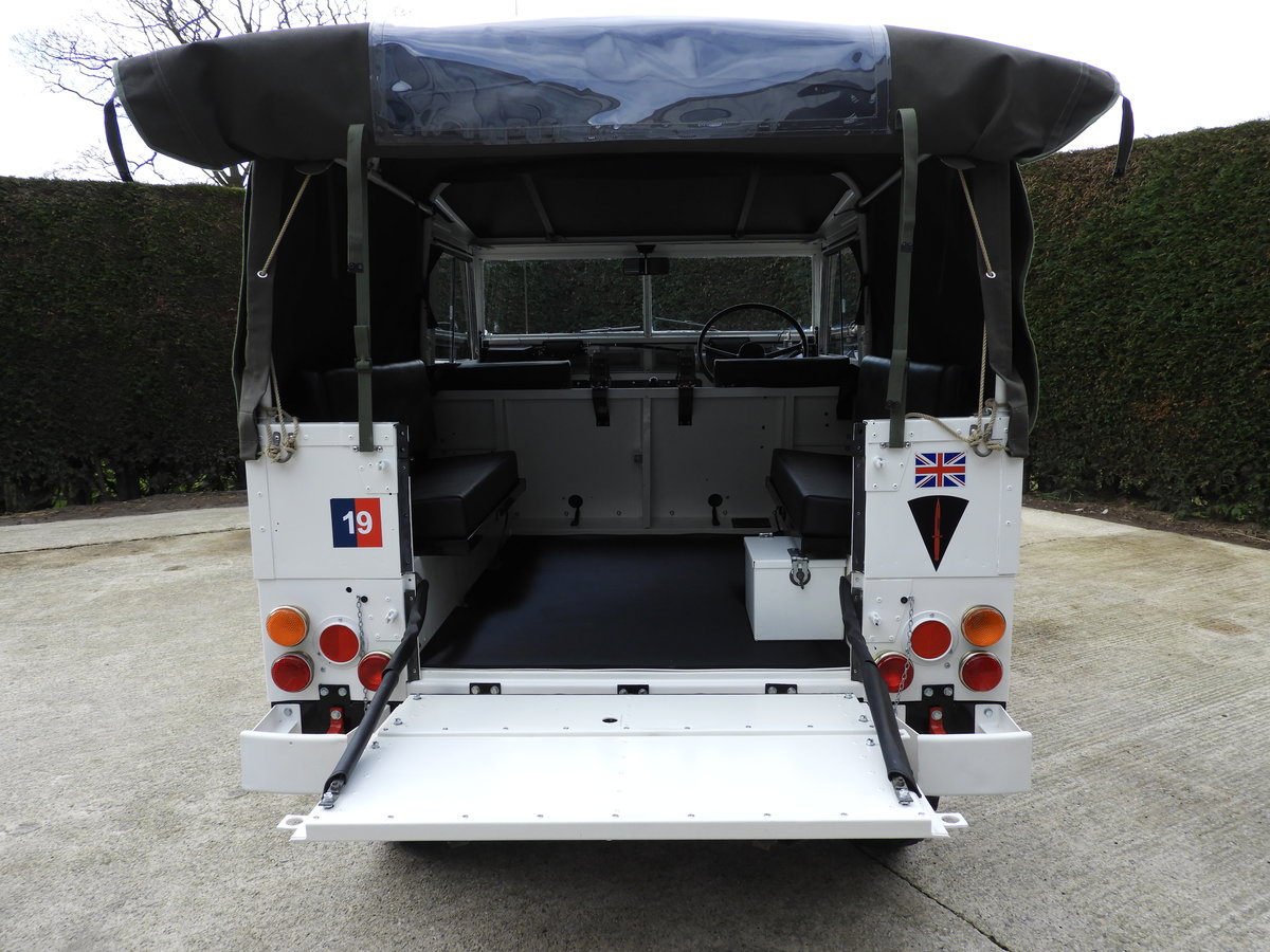 1980 LAND ROVER SERIES 3 LIGHTWEIGHT RARE ARCTIC VERSION!! For Sale (picture 6 of 6)