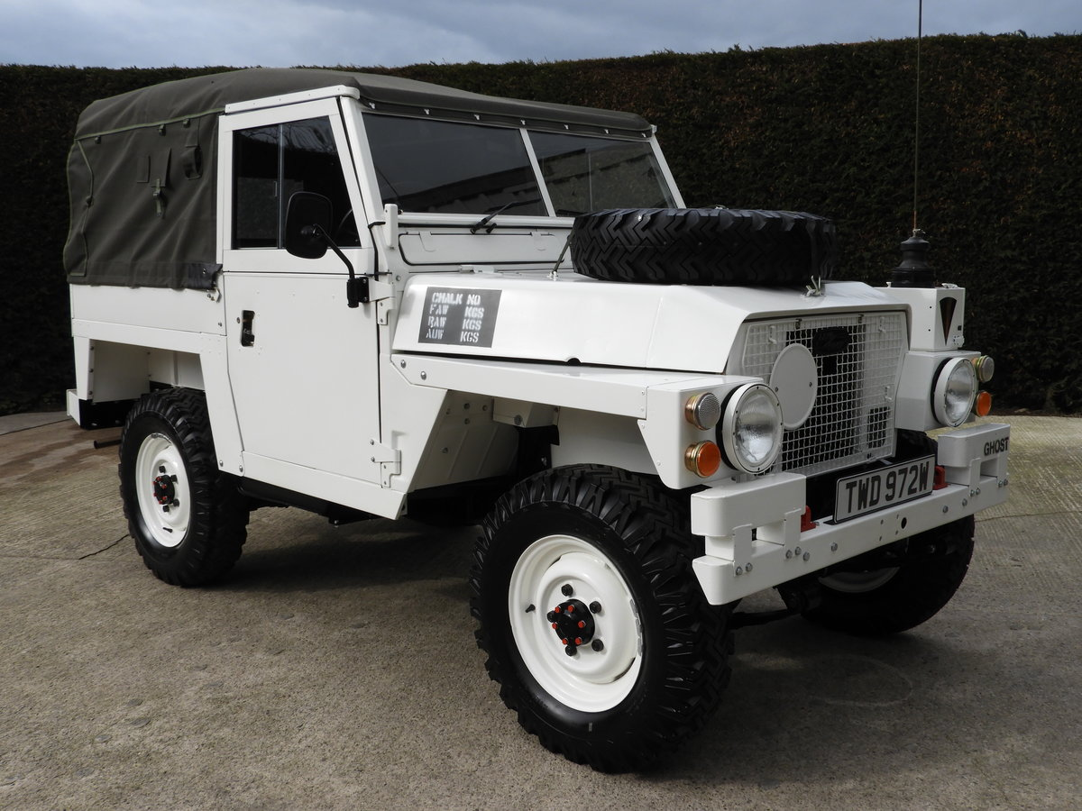 1980 LAND ROVER SERIES 3 LIGHTWEIGHT RARE ARCTIC VERSION!! For Sale (picture 2 of 6)