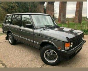 1993 Range Rover Vogue LSE - Fully Restored
