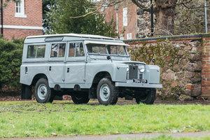 "1959 Land Rover Series II 109"" Station Wagon"