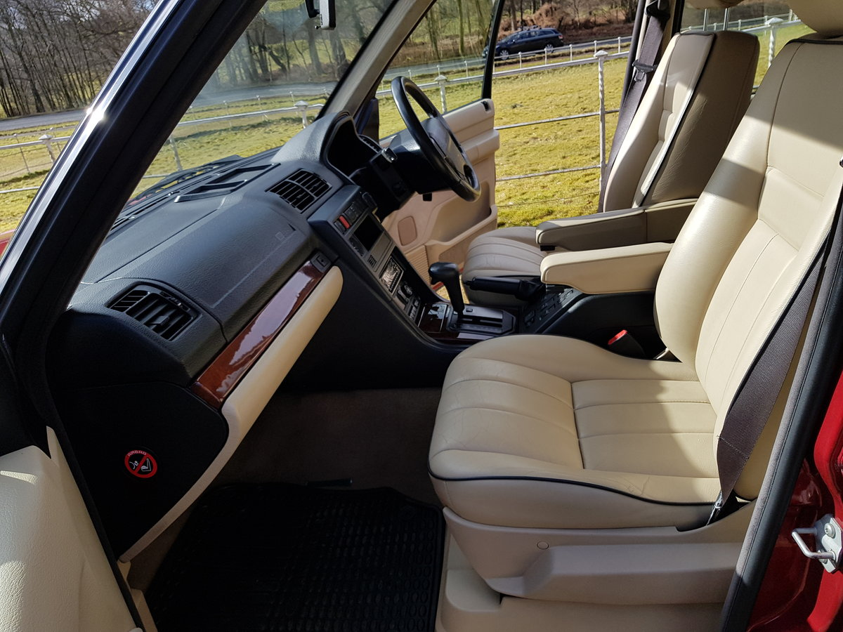1997 Range Rover P38 4.0 For Sale (picture 6 of 6)