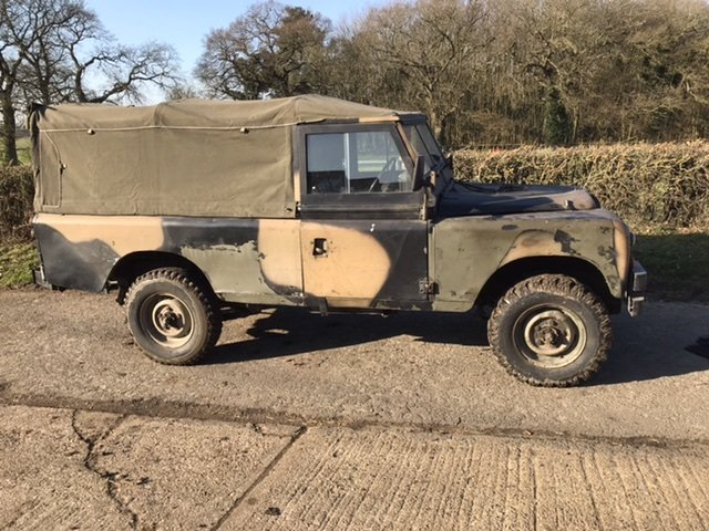 1980 Military 109 petrol soft top  SOLD (picture 1 of 6)