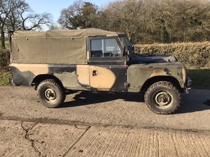 1980 Military 109 petrol soft top