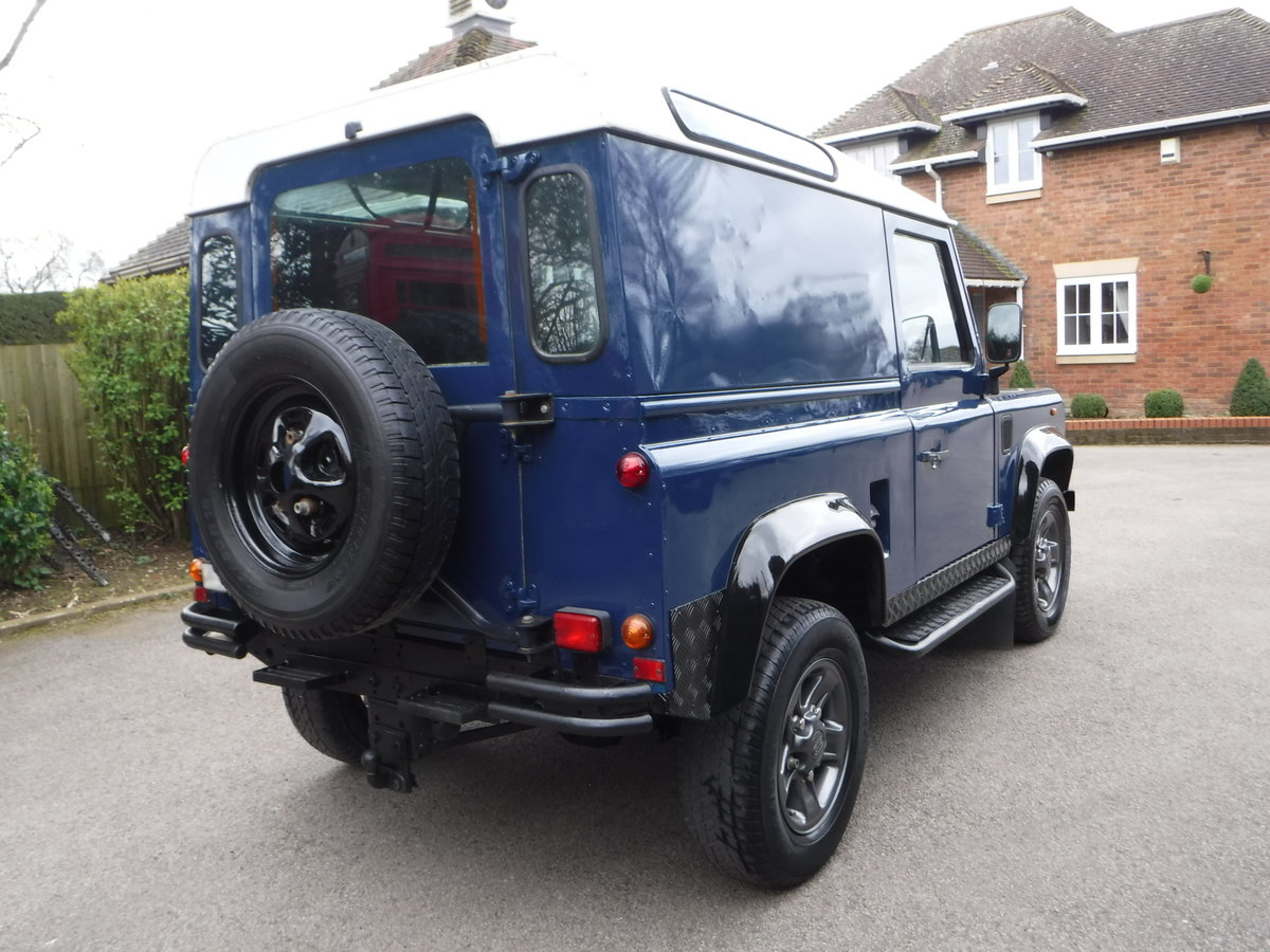 1998 Land Rover Defender 90 2.5 TDi Hard Top  For Sale (picture 4 of 6)